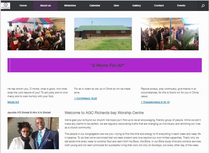 African Gospel Church Worship Centre